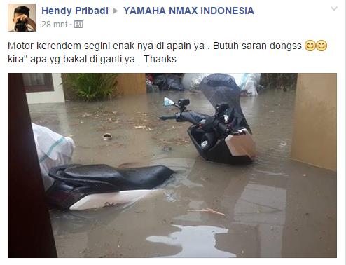 nmax kerendam banjir
